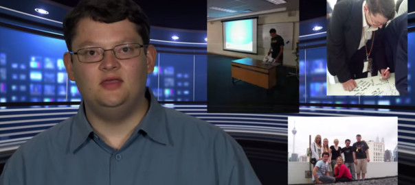 presenting showreel screenshot