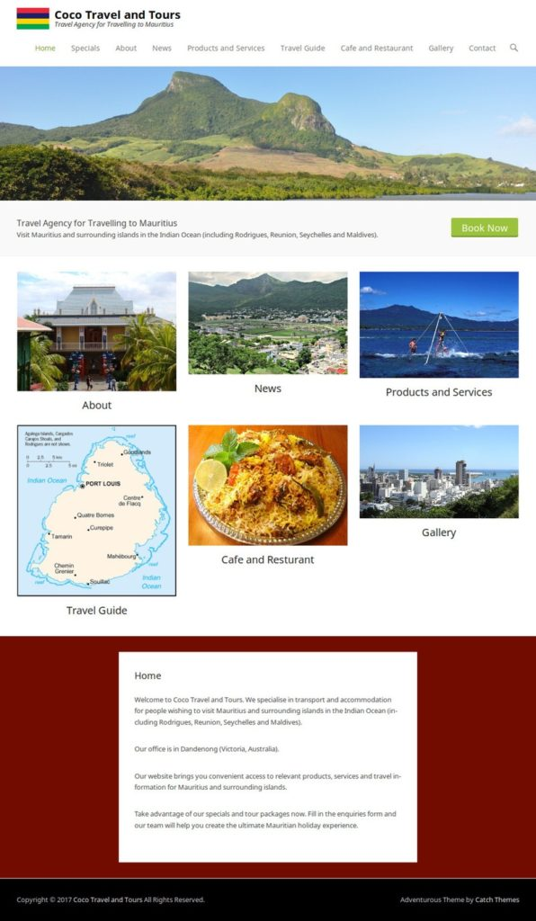 Coco Travel and Tours Screenshot (19-8-17)