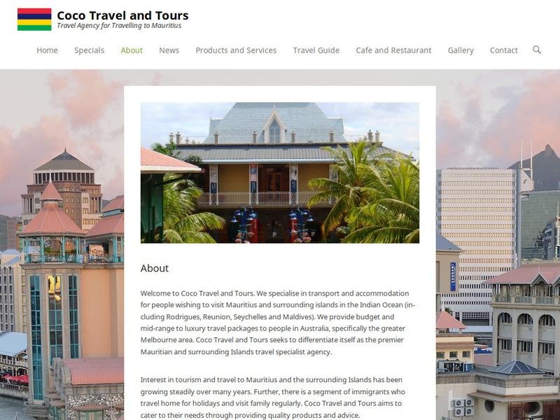 Coco Travel and Tours Screenshot 2 (19-8-17)